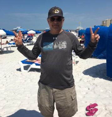 Sandy on the Beach